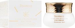 Parfums et Produits cosmétiques Crème à l'acide hyaluronique pour contour des yeux - Deoproce Spider Web Multi-Care Eye Cream