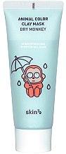 Parfums et Produits cosmétiques Masque hydratant à l'argile pour le visage - Skin79 Animal Color Clay Mask Dry Monkey