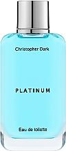 Parfums et Produits cosmétiques Christopher Dark Platinum - Eau de Toilette