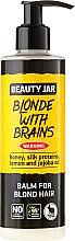 Parfums et Produits cosmétiques Après-shampooing au miel et protéines de soie pour cheveux blonds - Beauty Jar Balm For Blond Hair