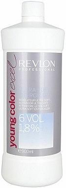 Révélateur ultra doux 1,8% - Revlon Professional Young Color Excel Ultra Soft Energizer 6 Vol 1,8% — Photo N1