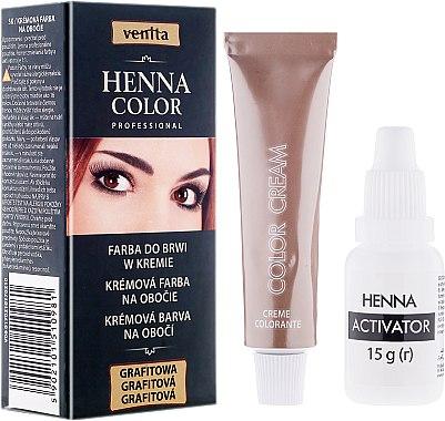Coloration en crème pour sourcils - Venita Henna Color