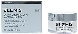 Parfums et Produits cosmétiques Crème de jour à l'huile de pépins de raisin - Elemis Dynamic Resurfacing Day Cream SPF 30
