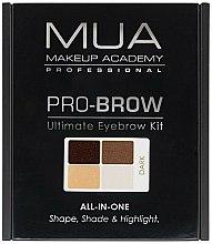 Parfums et Produits cosmétiques Palette sourcils - MUA Pro-Brow Ultimate Eye Brow Kit