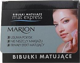 Parfums et Produits cosmétiques Papiers matifiants pour visage - Marion Mat Express