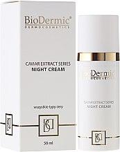 Parfums et Produits cosmétiques Crème de nuit à l'extrait de caviar - BioDermic Caviar Extract Night Cream