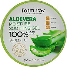 Parfums et Produits cosmétiques Gel à l'extrait d'aloe vera pour visage et corps - FarmStay Aloevera Moisture Soothing Gel