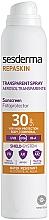 Parfums et Produits cosmétiques Spray solaire pour corps - SesDerma Laboratories Repaskin DNA Repair Spray Transparente SPF30