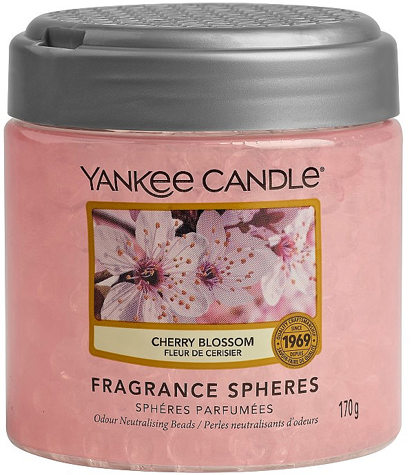 Sphères parfumées, Fleur de cerisier - Yankee Candle Cherry Blossom Fragrance Spheres