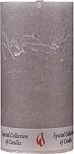 Parfums et Produits cosmétiques Bougie parfumée, cylindre brun, 15 cm - Ringa Special Collection Candle