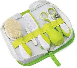 Parfums et Produits cosmétiques Set soin de cheveux et d'ongles pour bébé, celadon - Nuvita