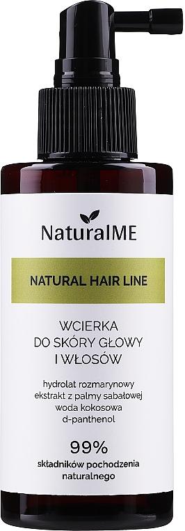 Lotion à l'extrait de noix de coco pour cheveux - NaturalME Natural Hair Line Lotion