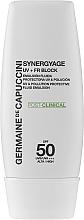 Parfums et Produits cosmétiques Émulsion solaire anti-pollution pour visage - Germaine de Capuccini Synergyage UV+FR Block Emulsion SPF50