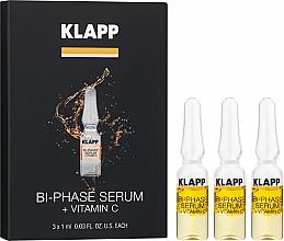 Parfums et Produits cosmétiques Sérum bi-phasé à la vitamine C pour visage - Klapp Bi-Phase Serum Vitamin C