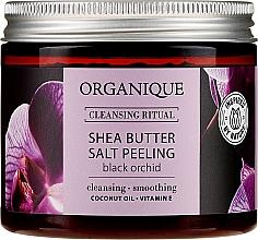 Parfums et Produits cosmétiques Exfolaint au sel et huile de noix de coco pour corps - Organique Shea Butter Salt Peeling Black Orchid