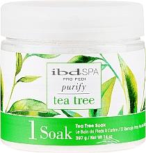 Parfums et Produits cosmétiques Bain de pieds à l'arbre à thé - IBD Tea Tree Purify Pedi Spa Soak