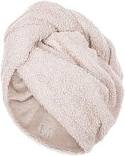Parfums et Produits cosmétiques Serviette pour cheveux, beige - MakeUp