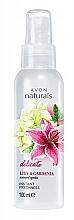 Parfums et Produits cosmétiques Spray parfumé pour corps, Lys et Gardénia - Avon Naturals Lily&Gardenia Spray