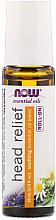 Parfums et Produits cosmétiques Huile roll-on pour maux de tête - Now Foods Essential Oils Head Relief Roll-On