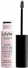 Parfums et Produits cosmétiques Gel pour sourcils - NYX Professional Bare With Me Hemp Brow Setter