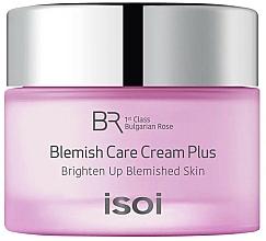 Parfums et Produits cosmétiques Crème à l'huile de rose Bulgare pour visage - Isoi Bulgarian Rose Blemish Care Cream Plus