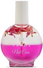 Parfums et Produits cosmétiques Huile pour ongles et cuticules - Kabos Nail Oil Pink Flowers