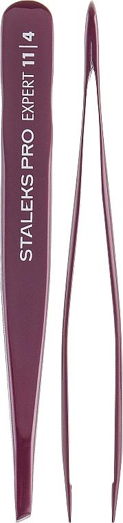 Pince à épiler, TE-11/4 - Staleks Pro