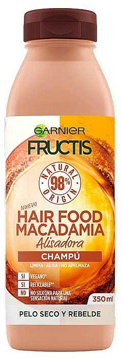 Shampooing à l'huile de macadamia - Garnier Fructis Hair Food Macadamia Smoothing Shampoo