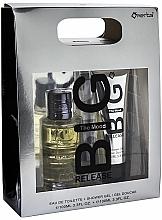 Parfums et Produits cosmétiques Omerta Big Release The Mood - Set (eau de toilette/100ml + gel douche/100ml)