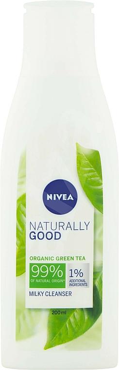 Lait nettoyant au thé vert bio pour visage - Nivea Naturally Good Green Tea Milky Cleanser