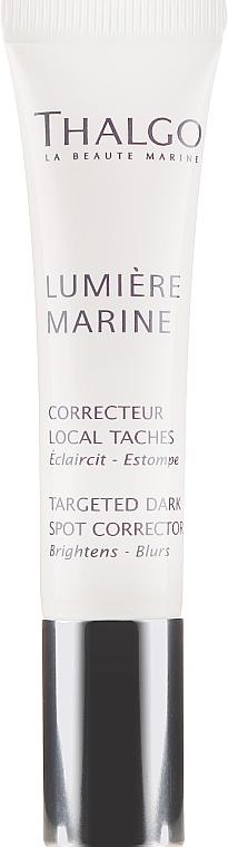 Thalgo Lumiere Marine Targeted Dark Spot Corrector - Soin local anti-taches pigemenatires à l'extrait d'algues brunes pour visage  — Photo N2
