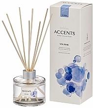 Parfums et Produits cosmétiques Bâtonnets parfumés, Fleurs de magnolia et Musc blanc - Bolsius Fragrance Diffuser Spa Time