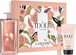 Parfums et Produits cosmétiques Lancome Idole - Coffret (eau de parfum/50ml + eau de parfum/10ml + crème corporelle/50ml)