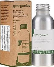 Parfums et Produits cosmétiques Bain de bouche à l'huile - Georganics Tea Tree Mouthwash