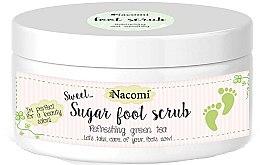 Parfums et Produits cosmétiques Gommage au sucre et thé vert pour pieds - Nacomi Sugar Foot Peeling