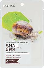 Parfums et Produits cosmétiques Masque tissu à la bave d'escargot pour visage - Eunyul Natural Moisture Mask Pack