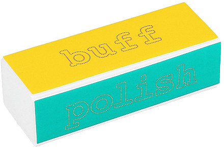 Bloc polissoir 4 étapes - Tools For Beauty 4-way Nail Buffer Block Normal