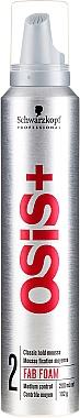Mousse coiffante fixation moyenne - Schwarzkopf Professional OSiS 2 Fab Foam
