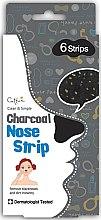 Parfums et Produits cosmétiques Patchs au charbon anti-boutons pour le nez - Cettua Charcoal Nose Strip