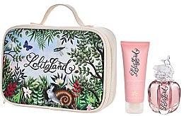 Parfums et Produits cosmétiques Lolita Lempicka Lolitaland - Coffret (eau de parfum 40ml + lait corps 75ml + trousse)