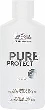 Parfums et Produits cosmétiques Gel désinfectant pour mains, alcool 62% - Farmona Professional Pure Protect Hand Gel