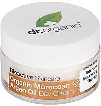 Parfums et Produits cosmétiques Crème de jour à l'huile marocaine bio - Dr. Organic Bioactive Skincare Organic Moroccan Argan Oil Day Cream