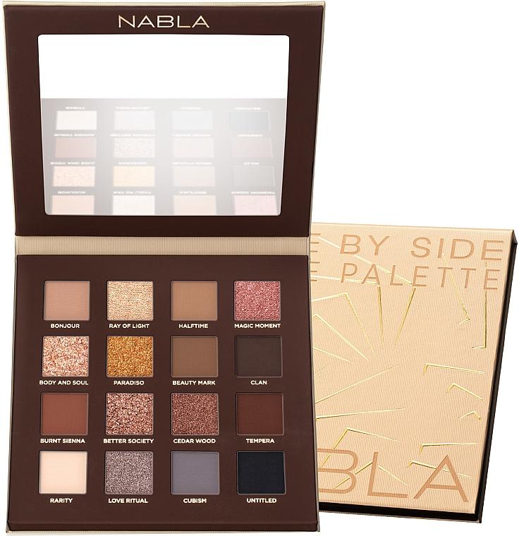 Palette de fards à paupières - Nabla Side By Side Nude Palette