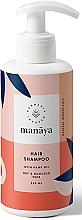 Parfums et Produits cosmétiques Shampooing à l'huile de chanvre - Manaya Hair Shampoo With Hemp Oil