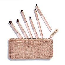 Parfums et Produits cosmétiques Kit pinceaux maquillage avec trousse de toilette - Nabla Denude Eye Brush Set