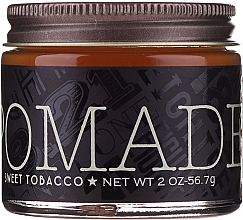 Parfums et Produits cosmétiques Pommade coiffante, fixation moyenne - 18.21 Man Made Hair Pomade Sweet Tobacco Styling Product Medium Hold