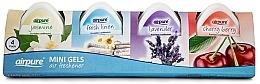Parfums et Produits cosmétiques Lot de 4 gels parfumés - Airpure 4 Pack Mini Gels (4xgel/60g)