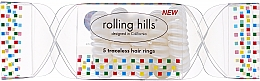 Parfums et Produits cosmétiques Élastiques à cheveux, transpratent - Rolling Hills 5 Traceless Hair Rings Cracker