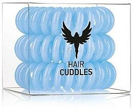 Parfums et Produits cosmétiques Élastiques à cheveux, bleu - HH Simonsen Hair Cuddles Light Blue
