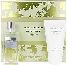 Parfums et Produits cosmétiques Angel Schlesser Eau De Cologne Bergamota - Coffret (Eau de Cologne/100ml + Gel douche/150)